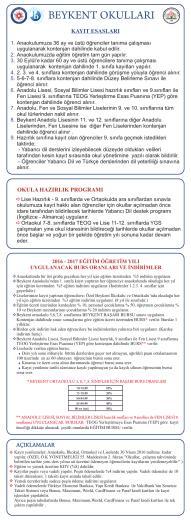 Beykent Okullari - Beykent Eğitim Kurumları