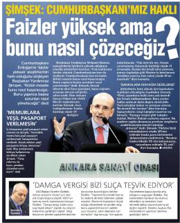 şimşek - Ankara Sanayi Odası