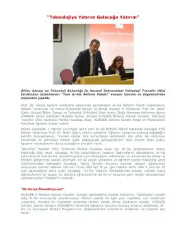 İndir - Kocaeli Üniversitesi | Mühendislik Fakültesi