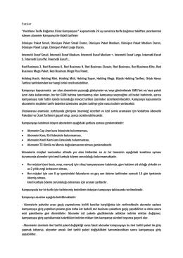 """Esaslar """"Vodafone Tarife Bağımsız Cihaz Kampanyası"""" kapsaminda"""