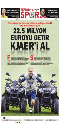 Fenerbahçe`nin yükselen yıldızının sözleşmesindeki özel madde