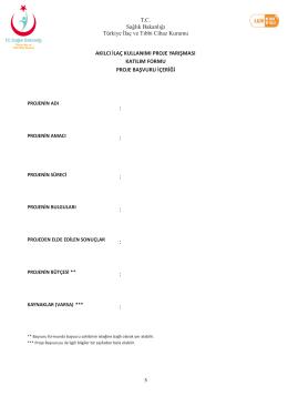 Page 1 T.C. Sağlık Bakanlığı Türkiye İlaç ve Tıbbi Cihaz Kurumu 3