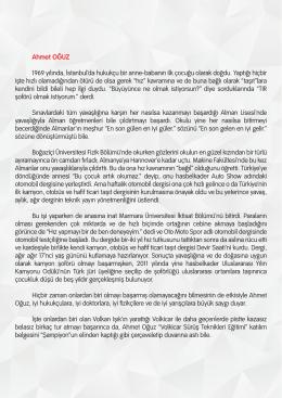 Ahmet OÄŸuz