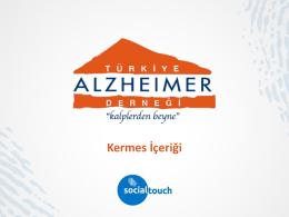 İleti - Türkiye Alzheimer Derneği