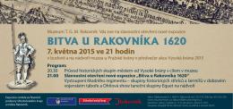 2015 - Bitva u Rakovníka 1620
