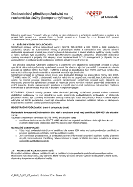 C_PUR_D_003_CZ Proseat Supplier Requirement Manual _005