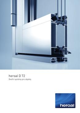 heroal D 72 Objekttuersystem