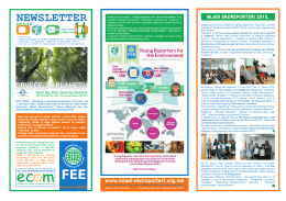 brošuru sa najavom konkursa - mladi