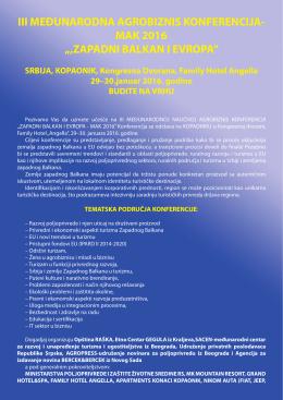 zapadni balkan i evropa - Udruženje e