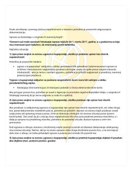 dokumentacija za upis novog vlasnika u katastar
