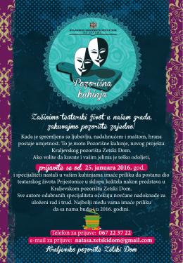 Pozorisna kuhinja - Montenegrina.net