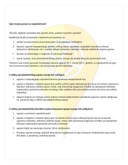 upis novog imaoca prava-dokumentacija