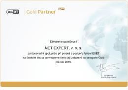 NET EXPERT, v. o. s.