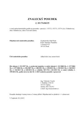 342264-posudek 3001-12 - Exekutorský úřad Písek / JUDr