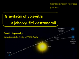 Mapovani temne hmoty