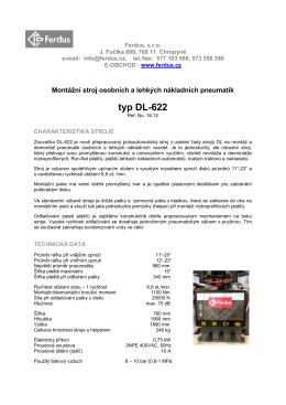 typ DL-622 - FERDUS.cz
