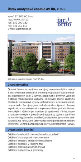 Ústav analytické chemie AV ČR, v. v. i.