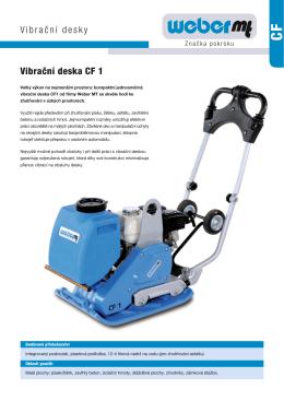 CF 1 prospekt - AUSTRO Baumaschinen
