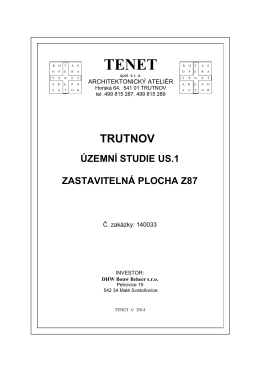 ÚS Trutnov Z87 (Chmelnice)