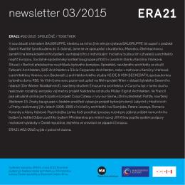 newsletter 03/2015