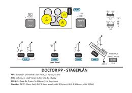Stageplán