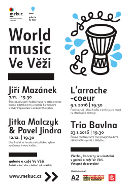 World music Ve věži
