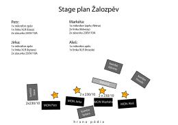 Stage plan Žalozpěv