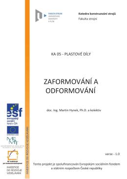 zaformování a odformování - KKS - Západočeská univerzita v Plzni