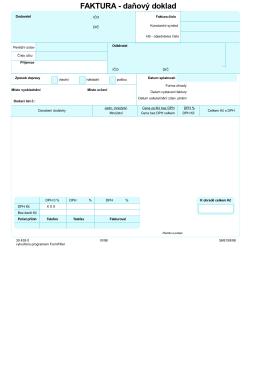 C:\PDF pro Form\faktura1.FFW