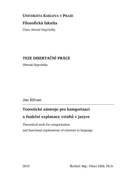 TEZE - Ústav lingvistiky a ugrofinistiky