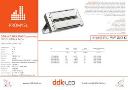 datasheet  - DDK-LED