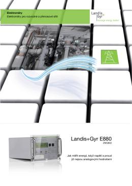 Landis+Gyr E880