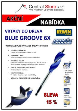 AKCE - VRTÁKY BLUE GROOVE6X (1.10