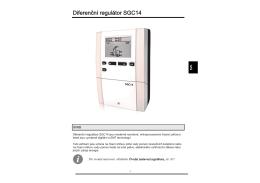 Diferenční regulátor SGC14