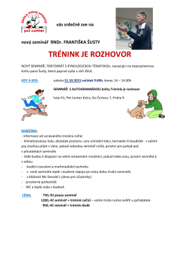 Propozice seminář TjR PDF