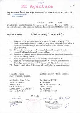 RK Agentura - Sládkovičovo