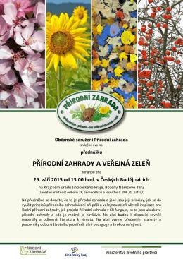 Občanské sdružení Přírodní zahrada