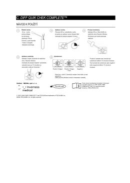 Návod Clostridium Techlab