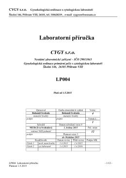 Laboratorní příručka ke stažení