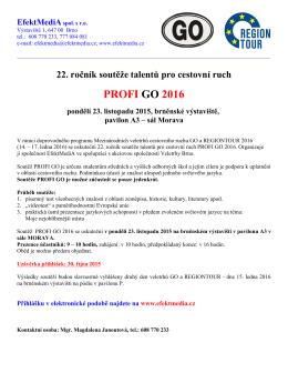 PROFI GO 2016
