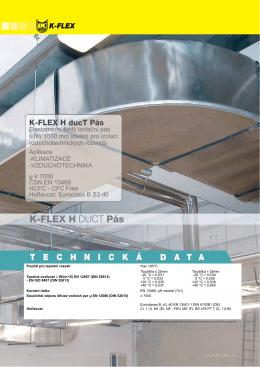 K-FLEX ® H DUCT