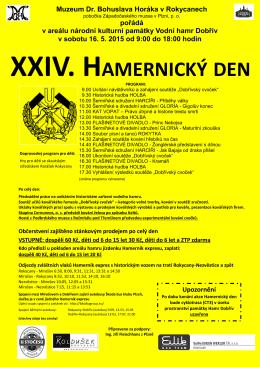 XXIV. HAMERNICKÝ DEN