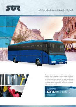 autobus SOR LH 10,5 - katalogový list