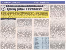 16.10.2006 Týdeník Pernštejn