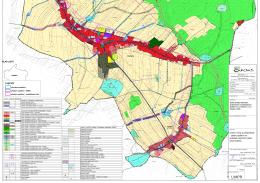 Územní limity a předpoklady - zákres opatření na
