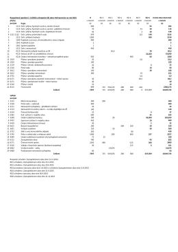 Rozpočtové opatření č. 6 (RO2) a Rozpočet (R) obce Heřmanovice