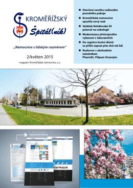 číslo 2/2015 - Kroměřížská nemocnice as