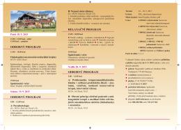 Program Roznov 2015.indd - oblastní stomatologická komora olomouc