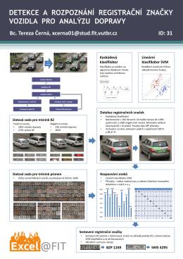 detekce a rozpoznání registrační značky vozidla pro