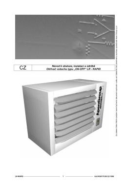 ohřívač vzduchu série lr